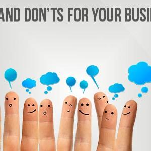 Social Media Do's and Don'ts – Advice from Social Marketing Companies