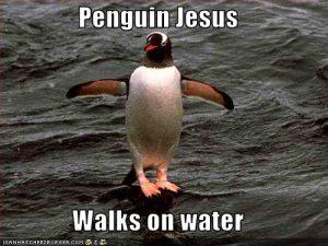 Penguin 4.0 Penguin Jesus