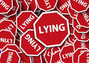 search engine optimization company - lying sign